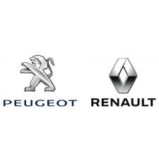PEUGEOT, RENAULT