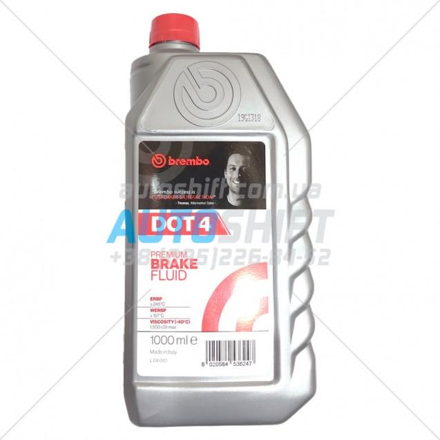 Тормозная жидкость Brembo Premium Brake Fluid DOT 4 (1 литр)