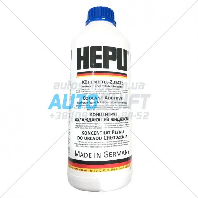 Антифриз Hepu P999 G11 -80С концентрат охлаждающей жидкости синий