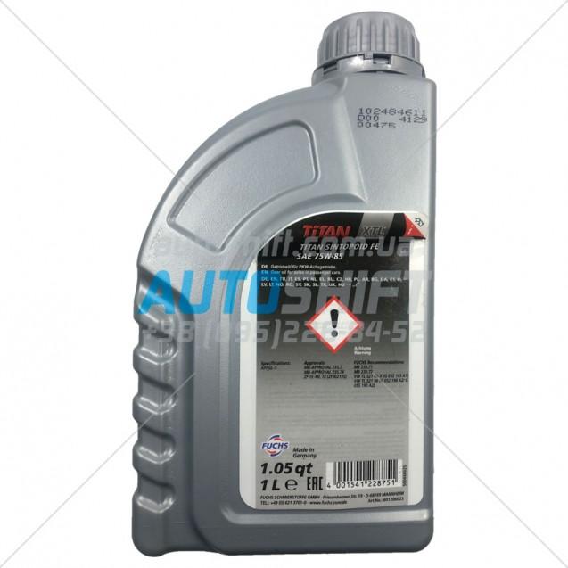 Масло для АКПП TITAN SINTOPOID FE 75W-85