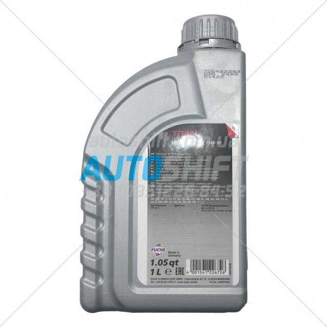 Масло для АКПП TITAN SINTOPOID 75W-90 1L