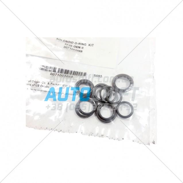 Solenoid O-ring Kit АКПП 6F35 Gen 2 Transtech S593