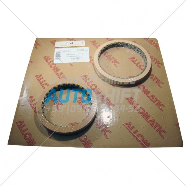 Комплект фрикционных дисков АКПП A606, 42LD 554