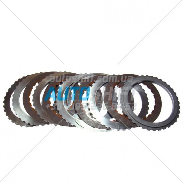 Комплект дисков сцепления 4-5-6 АКПП 6T40 6T45