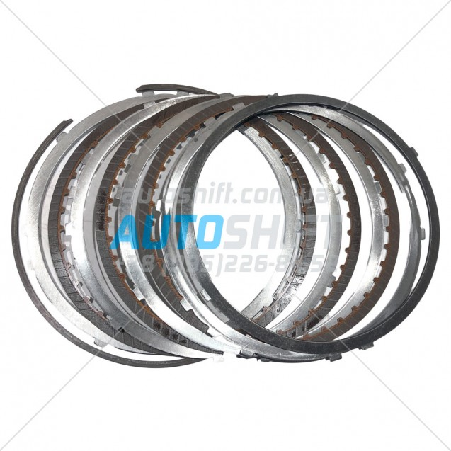 Комплект дисков пакета REVERSE АКПП JF011E RE0F10A Б/У