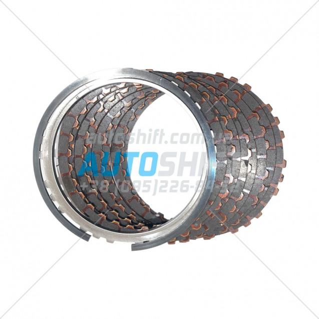Пакет сцепления 3-5-R АКПП A6GF1 Elantra 11 (2012) 4542526600 Б/У