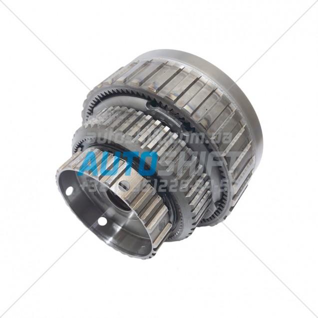 Комплект планетарных передач в сборе с кольцевой, солнечными шестернями и обгонной муфтой АКПП AW55-50SN AW55-51SN Б/У