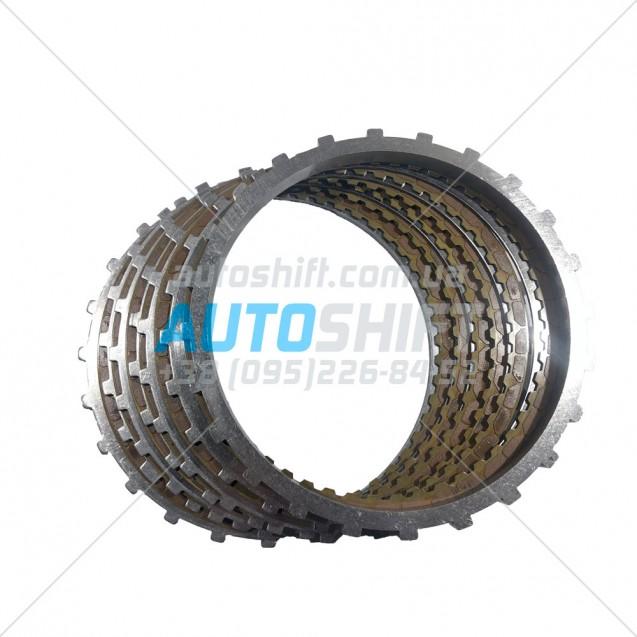 Комплект дисков B2 Brake АКПП 0C8 (TR-80SD) Б/У